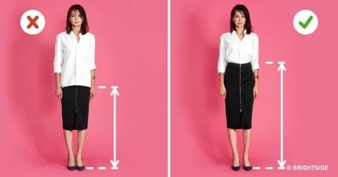6 cách mặc trang phục để trông bạn cao hơn