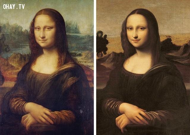 Phiên bản khác của Mona Lisa,biểu tượng nổi tiếng,những điều thú vị trong cuộc sống