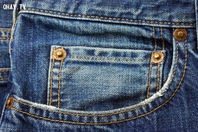 Các túi nhỏ trên quần jean của bạn.,