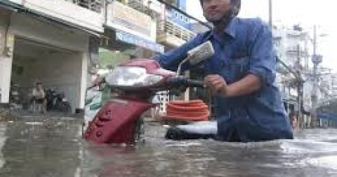 Mùa mưa - Nỗi ám ảnh của người dân Sài Gòn
