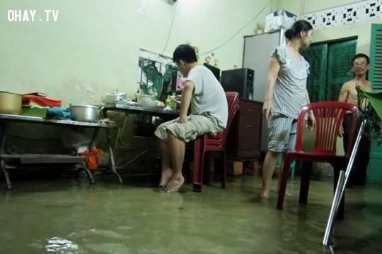 Ôi nước lũ dân cao..,mùa mưa,ngập nước,cấp thoát nước,thủy triều