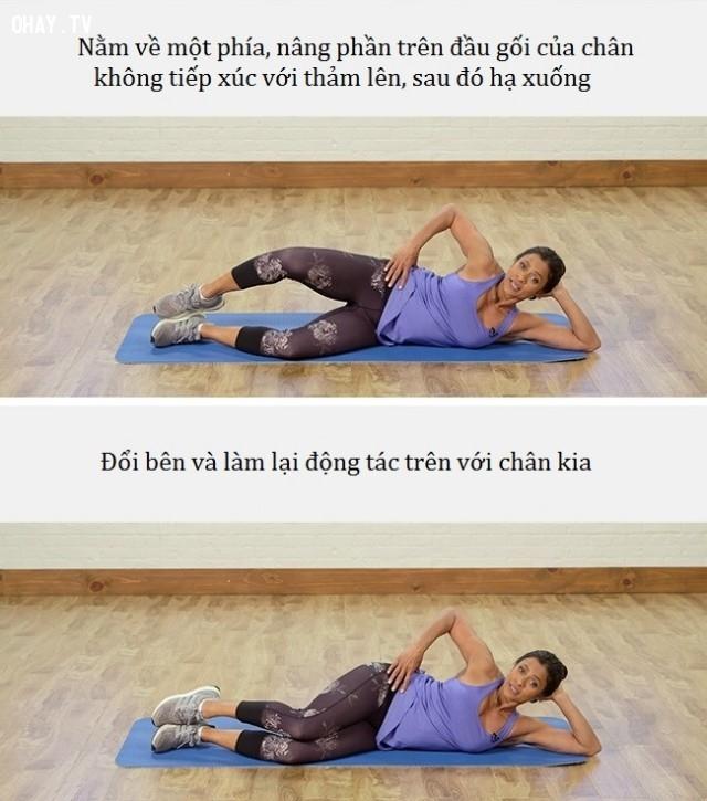 Bài tập 3: Clam ,Jessica Alba,dáng đẹp,tập thể dục,workout,giảm cân