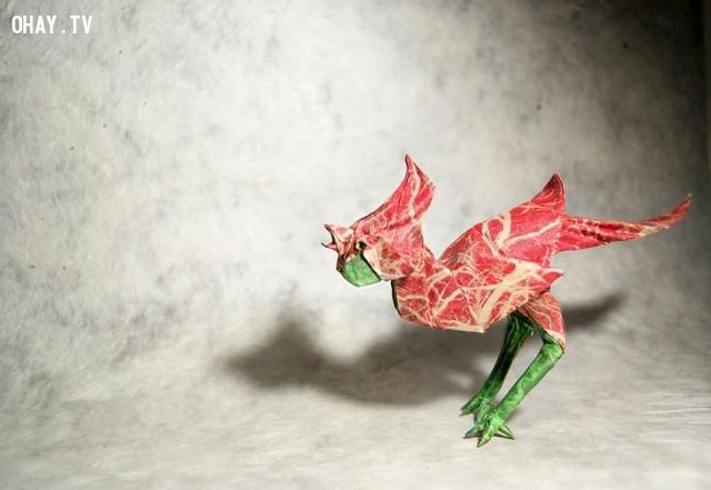 ,Gonzalo Calvo,mẫu Origami đẹp,xếp giấy Origami,sản phẩm độc đáo,mẫu Origami 3d