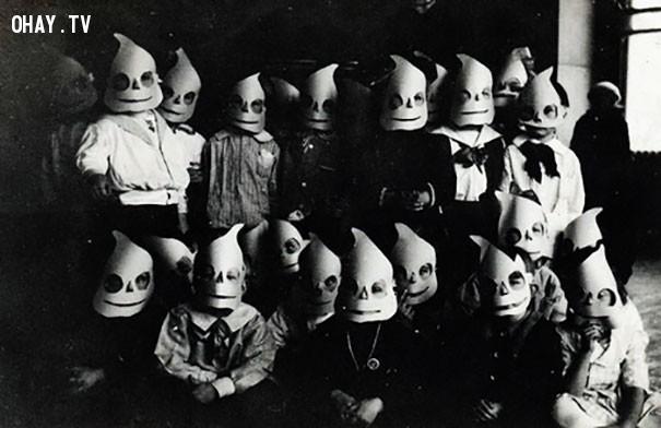 #3,ảnh đen trắng,vintage halloween,cảm giác ghê rợn,ảnh thời xưa