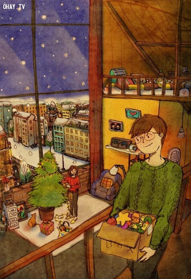 5. Những món quà đắt giá đôi khi chẳng là gì so với những giây phút ấm áp bên nhau,tình yêu