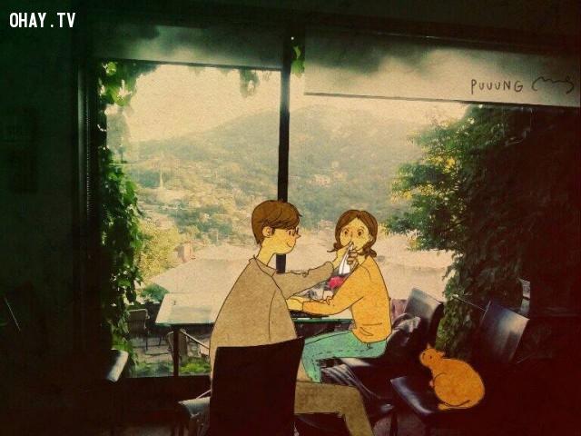 11. Là khi tôi được là chính tôi, bên anh những ngày bình yên,tình yêu