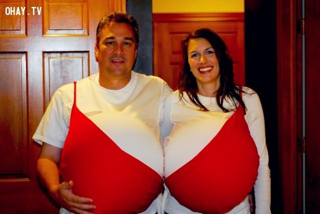 5. Áo ngực đôi siêu đẹp siêu bựa là đây.,áo ngực độc đáo,áo ngực lạ