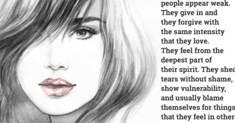 Người nhạy cảm rất đáng yêu…