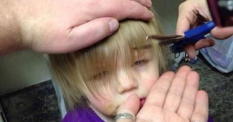 """Bố cắt tóc cho con gái tưởng thảm họa ai ngờ là """"tuyệt phẩm"""""""
