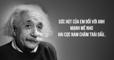 Khi các nhà khoa học tỏ tình.......