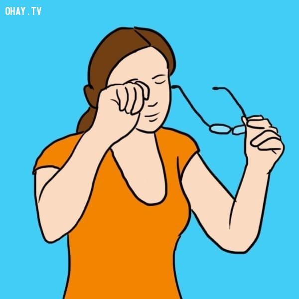 Giúp cải thiện tầm nhìn,nước mắt,sức khỏe