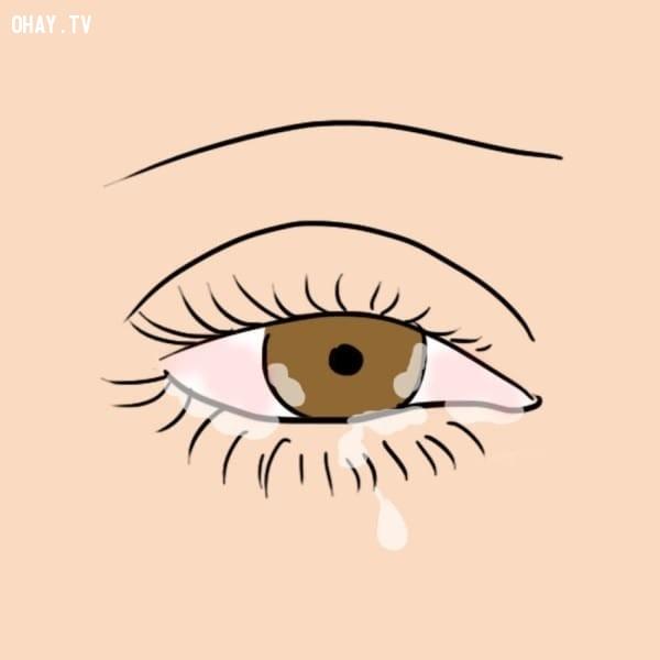 Thải độc tố,nước mắt,sức khỏe