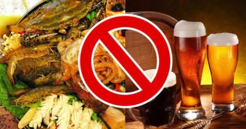 19 loại thực phẩm tuyệt đối không nên kết hợp ăn chung