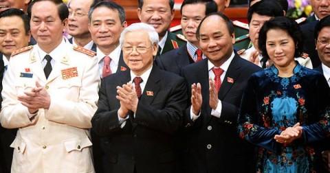 Tứ trụ của Việt Nam hiện nay là ai?