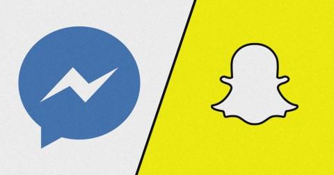 Facebook và Snapchat: Cuộc chiến của camera