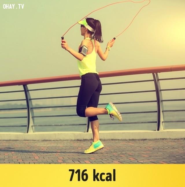 Nhảy dây,giảm cân