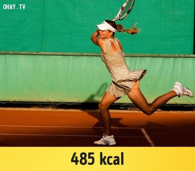 Quần vợt,giảm cân