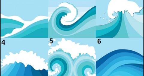 Trắc nghiệm tính cách qua hình ảnh con sóng