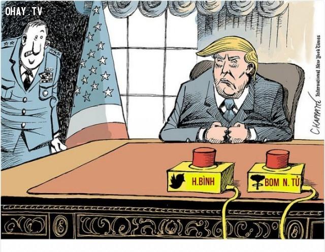 #10,Donald Trump,tranh biếm họa,tổng thống mỹ,bầu cử