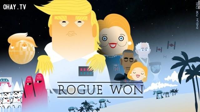 #16,Donald Trump,tranh biếm họa,tổng thống mỹ,bầu cử