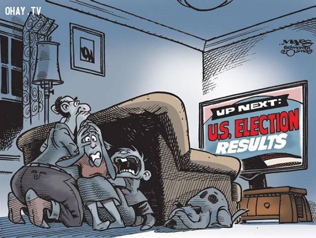 #12,Donald Trump,tranh biếm họa,tổng thống mỹ,bầu cử