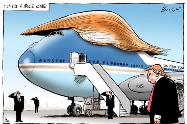 #7,Donald Trump,tranh biếm họa,tổng thống mỹ,bầu cử