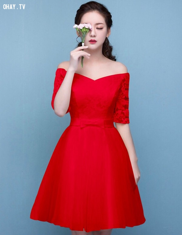 ,đầm xòe,thời trang nữ