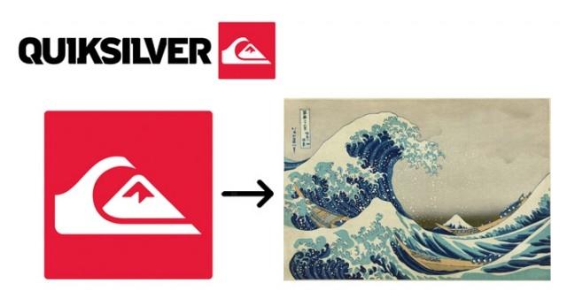 #6 Quiksilver,giải mã logo