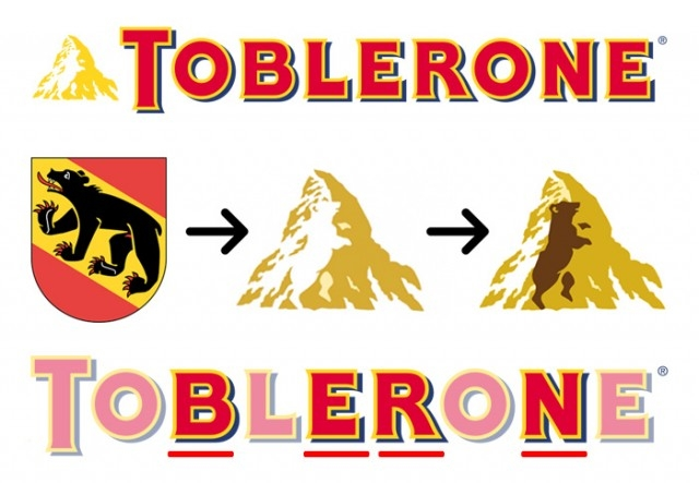 #2 Toblerone,giải mã logo