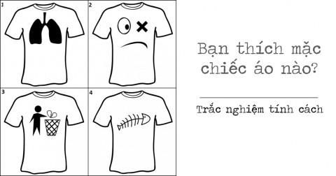 Trắc nghiệm tính cách với chiếc áo thun mà bạn thích nhất