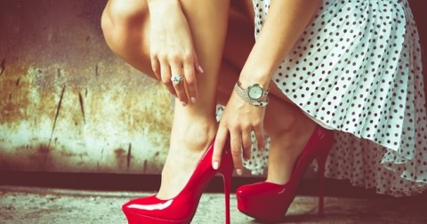Giày cao gót là người bạn kiêu ngạo nhất của phụ nữ