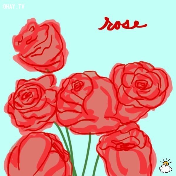 2. Hoa hồng,trắc nghiệm vui,trắc nghiệm tính cách,bói dạo,loài hoa yêu thích