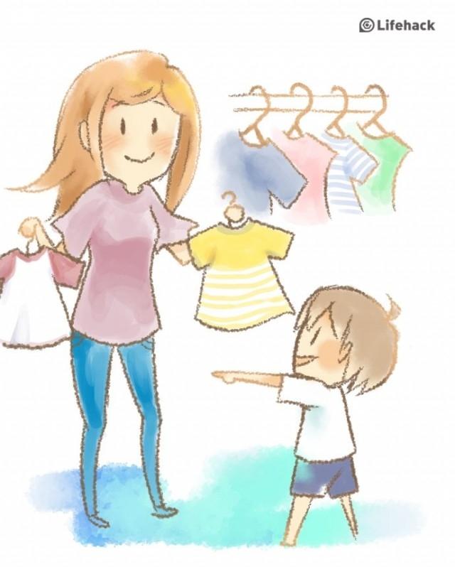 Để con tự đưa ra sự lựa chọn,nuôi dạy con cái,sự yêu thương