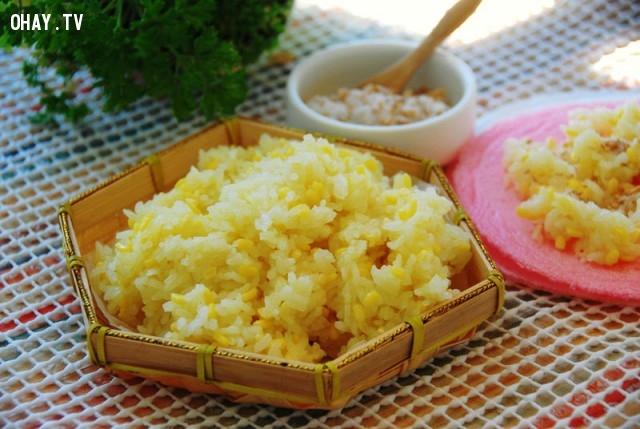 Xôi đậu xanh,cách nấu xôi,món ăn sáng,mẹo nấu ăn,mẹo nhà bếp