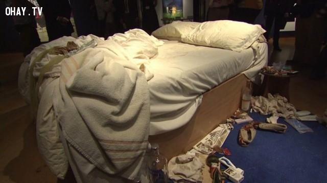 4. Không dọn dẹp giường ngủ,sai lầm phổ biến,thói quen sai lầm,thói quen xấu,giấc ngủ,thức dậy