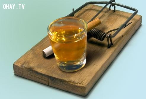 1. Nước lạnh và những bữa ăn nhẹ:,cai thuốc lá,cai nghiện