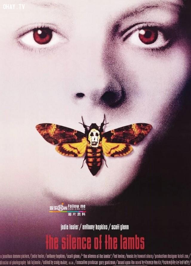 2. The Silence of The Lambs (1991) – Sự im lặng của bầy cừu,phim trinh thám hay,xem phim phá án,phim hay