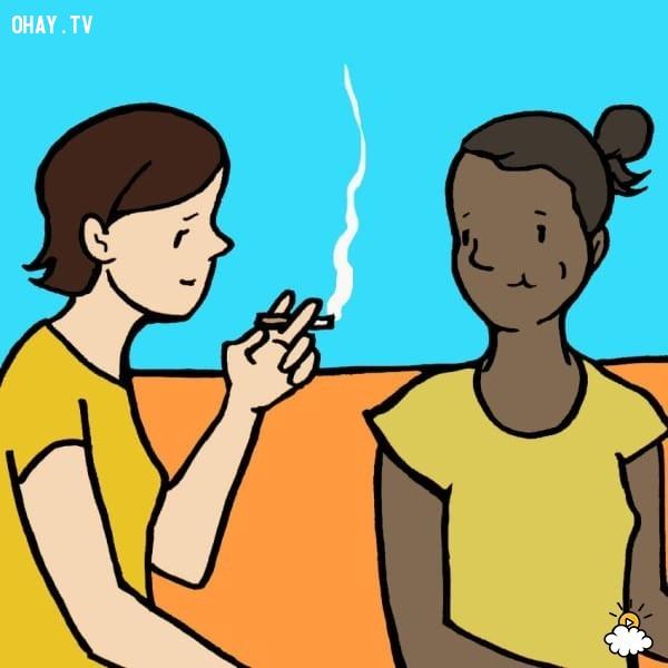 Hỗ trợ cai thuốc lá,kẹo cao su