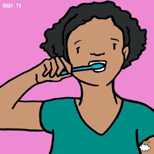 Làm trắng răng,kẹo cao su