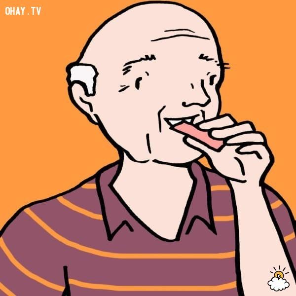 Cải thiện trí nhớ,kẹo cao su