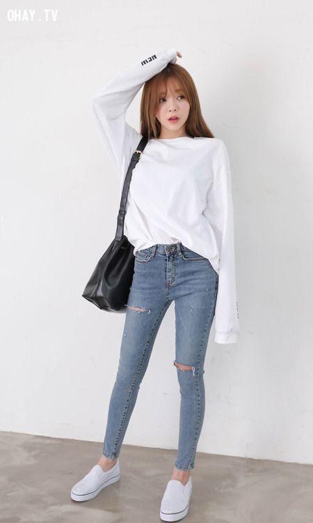 Quần skinny jean ôm sát tôn dáng cho phái nữ,quần jean,thời trang nữ,Quần jogger nữ,quần yếm nữ,quần short nữ,quần baggy jean