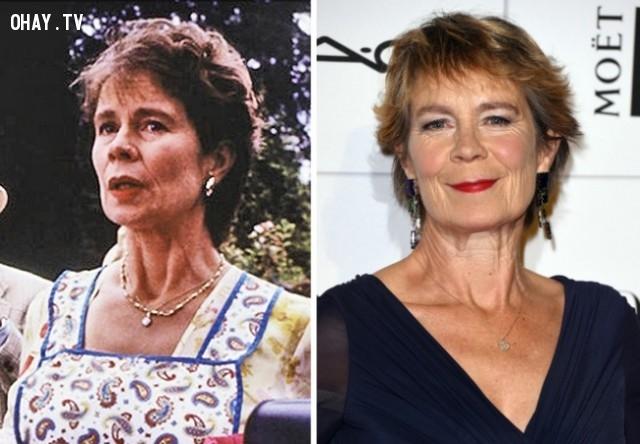 9. Celia Imrie — Vai Una (Bạn của mẹ tiểu thư Jones),Nhật ký tiểu thư Jones,diễn viên,ngày ấy bây giờ