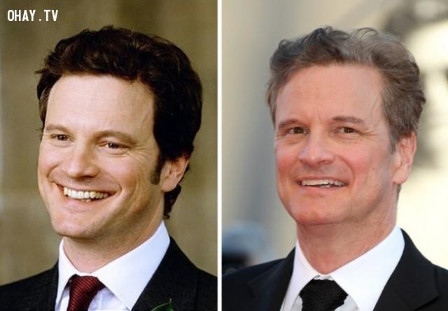 3. Colin Firth — Vai Mark Darcy (Chàng luật sư nghiêm túc),Nhật ký tiểu thư Jones,diễn viên,ngày ấy bây giờ