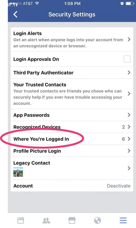 17. Kiểm tra lại những thiết bị đã từng đăng nhập và thoát tài khoản từ xa,Facebook,mẹo công nghệ