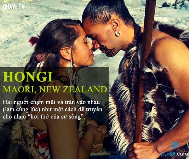 Chạm mũi (người Maori, New Zealand),chào hỏi,văn hóa giao tiếp