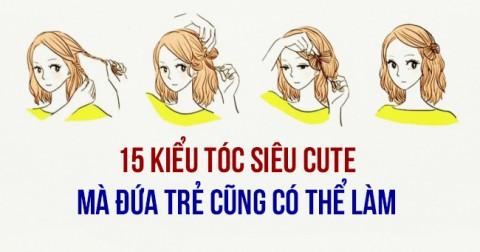 Hướng dẫn cách làm 15 kiểu tóc cực đẹp cho con gái dưới tuổi 30