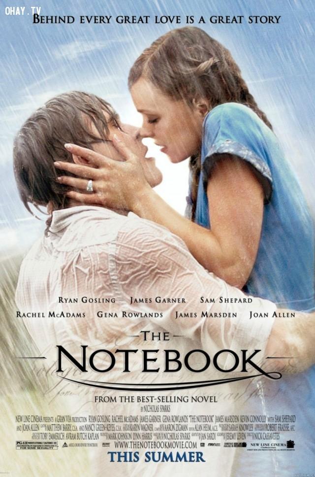 2. The Notebook (2004),phim hay,phim tình cảm,phim tình yêu
