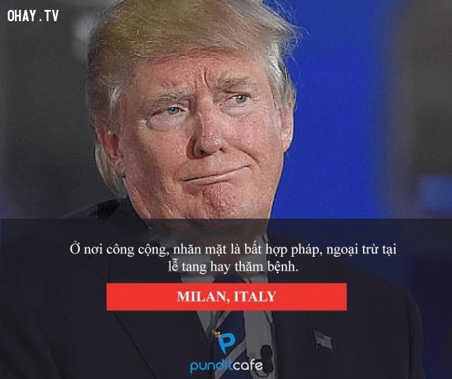 Đừng cau có - Milan (Italy),luật lệ,những điều thú vị trong cuộc sống,chuyện lạ