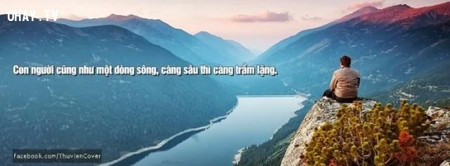 26. Sông lớn chảy lặng lẽ; Đàn ông khôn nói nhẹ nhàng. .,câu nói hay,câu nói trí tuệ,khôn ngoan,do thái