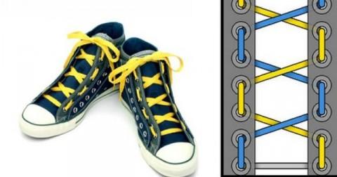 Lời khuyên để chọn kiểu buộc dây giày cá tính và phù hợp